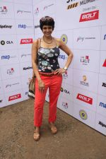 Mandira Bedi flags off the Street smart street safe women safety drive in Mumbai on 8th July 2015