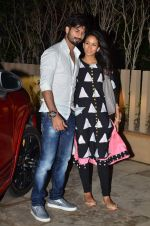 Shahid Kapoor and Meera snapped at home on 8th July 2015