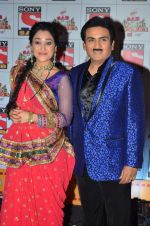 Dilip Joshi, Disha Wakani at SAB Ke Anokhe Awards in Filmcity on 9th july 2015 (4)_55a0ec185c120.JPG