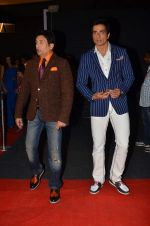 Sonu Sood, Shekhar Suman at SAB Ke Anokhe Awards in Filmcity on 9th july 2015