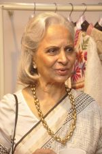 Waheeda Rehman at Krishna Mehta_s store in association with Tata Medical Center in Chowpatty on 10th July 2015 (51)_55a10c0ac3429.JPG