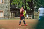 Arjun Kapoor snapped at soccer match practice in Bandra, Mumbai on 12th July 2015