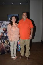 David Dhawan at Bahubali screening in Lightbox on 12th July 2015