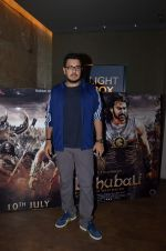 Dinesh Vijan at Bahubali screening in Lightbox on 12th July 2015