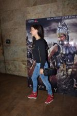 Elli Avram at Bahubali screening in Lightbox on 12th July 2015