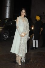 Genelia D Souza at Shahid Kapoor and Mira Rajput_s wedding reception in Mumbai on 12th July 2015 (41)_55a37520b62de.JPG