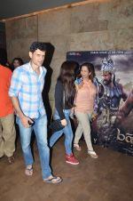 Niketan madhok at Bahubali screening in Lightbox on 12th July 2015