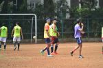 Ranbir Kapoor snapped at soccer match practice in Bandra, Mumbai on 12th July 2015