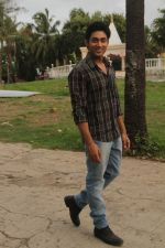 Ruslaan Mumtaaz On location of the Film Khel Toh Ab Shuru Hoga