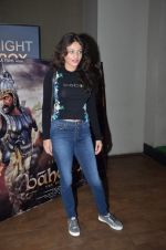 Sneha Ullal at Bahubali screening in Lightbox on 12th July 2015
