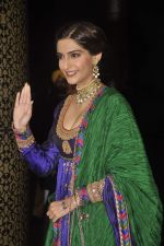 Sonam Kapoor at Shahid Kapoor and Mira Rajput