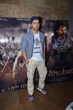 Varun Dhawan at Bahubali screening in Lightbox on 12th July 2015