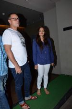 Alvira Khan, Atul Agnihotri at Salman Khan_s Bajrangi Bhaijaan screening in Lightbox on 13th July 2015 (65)_55a4aeddeadb8.JPG