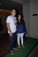 Alvira Khan, Atul Agnihotri at Salman Khan_s Bajrangi Bhaijaan screening in Lightbox on 13th July 2015 (64)_55a4aed48180d.JPG
