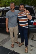 Anees Bazmee, Nana Patekar at Welcome Back song shoot in Aarey Milk Colony on 13th July 2015 (297)_55a4b1f9efd72.JPG