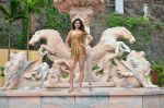 Ankita Srivastava at Welcome Back song shoot in Aarey Milk Colony on 13th July 2015