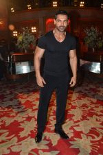 John Abraham at Welcome Back song shoot in Aarey Milk Colony on 13th July 2015