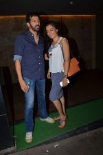 Kabir Khan, Mini Mathur at Salman Khan_s Bajrangi Bhaijaan screening in Lightbox on 13th July 2015 (1)_55a4af4602f9c.JPG
