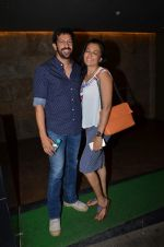 Kabir Khan, Mini Mathur at Salman Khan_s Bajrangi Bhaijaan screening in Lightbox on 13th July 2015 (66)_55a4af470e7a6.JPG