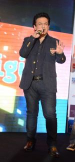 Adnan Sami at Bajrangi Bhaijaan promotions in Delhi on 14th July 2015