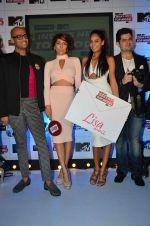Anusha Dandekar, Lisa haydon, Dabboo Ratnani at MTV India