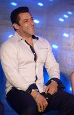 Salman Khan at Bajrangi Bhaijaan promotions in Delhi on 14th July 2015