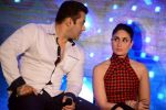Salman Khan, Kareena Kapoor at Bajrangi Bhaijaan promotions in Delhi on 14th July 2015