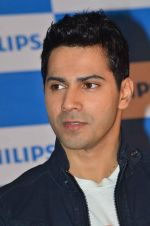 Varun Dhawan as the new face of Philips in Palladium on 14th July 2015