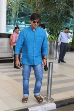 Vivek Oberoi snapped at airport on 14th July 2015
