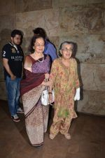 Asha Parekh at Bajrangi Bhaijaan screening in Lightbox on 15th July 2015 (67)_55a772f81ed1a.JPG