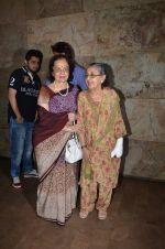 Asha Parekh at Bajrangi Bhaijaan screening in Lightbox on 15th July 2015 (72)_55a772fb29ff0.JPG
