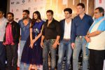 Salman Khan, Suraj Pancholi, Athiya Shetty, Nikhil Advani, Sunil Shetty, Aditya Pancholi, Subhash Ghai at Hero Tralier Launch on 16th July 2015 (360)_55a91ad039b8d.JPG
