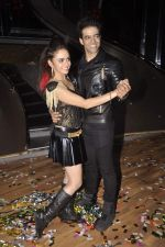 Himmanshoo Maholtra, Amruta Khanvilkar at Nach Baliye 7 on 18th July 2015 (8)_55aca55454d70.JPG