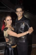 Himmanshoo Maholtra, Amruta Khanvilkar at Nach Baliye 7 on 18th July 2015 (9)_55aca5553ebf5.JPG