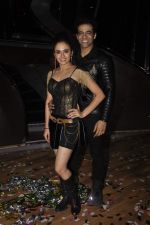 Himmanshoo Maholtra, Amruta Khanvilkar at Nach Baliye 7 on 18th July 2015 (5)_55aca55341632.JPG