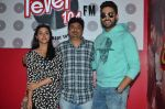 Abhishek Bachchan, Asin Thottumkal and Umesh Shukla at Radio Mirchi studio for promotion of their film All is well in Lower Parel on 20th july 2015 (21)_55adee3482427.JPG