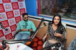Abhishek Bachchan, Asin Thottumkal at Radio Mirchi studio for promotion of their film All is well in Lower Parel on 20th july 2015 (59)_55adee3ab742e.JPG
