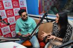 Abhishek Bachchan, Asin Thottumkal at Radio Mirchi studio for promotion of their film All is well in Lower Parel on 20th july 2015 (61)_55adee3b55956.JPG