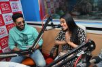 Abhishek Bachchan, Asin Thottumkal at Radio Mirchi studio for promotion of their film All is well in Lower Parel on 20th july 2015 (63)_55adee3be8399.JPG