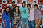Abhishek Bachchan, Asin Thottumkal at Radio Mirchi studio for promotion of their film All is well in Lower Parel on 20th july 2015 (8)_55adee384c9c9.JPG