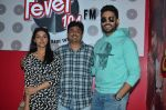 Abhishek Bachchan, Asin Thottumkal and Umesh Shukla at Radio Mirchi studio for promotion of their film All is well in Lower Parel on 20th july 2015