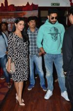 Abhishek Bachchan, Asin Thottumkal and Umesh Shukla at Radio Mirchi studio for promotion of their film All is well in Lower Parel on 20th july 2015 (25)_55aded61486ad.JPG