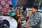 Abhishek Bachchan, Asin Thottumkal and Umesh Shukla at Radio Mirchi studio for promotion of their film All is well in Lower Parel on 20th july 2015 (44)_55aded633fb8d.JPG