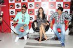 Abhishek Bachchan, Asin Thottumkal and Umesh Shukla at Radio Mirchi studio for promotion of their film All is well in Lower Parel on 20th july 2015 (80)_55aded63d304a.JPG