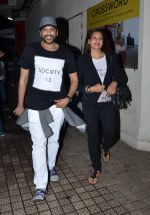 Bipasha Basu, Rocky S snapped in PVR on 20th July 2015 (15)_55adec1e4c948.JPG