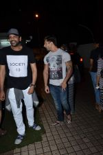 Rocky S and Karan Grover snapped in PVR on 20th July 2015