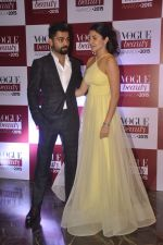 Anushka Sharma, Virat Kohli at Vogue beauty awards in Mumbai on 21st July 2015