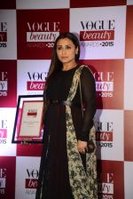 Rani Mukerji at Vogue beauty awards in Mumbai on 21st July 2015