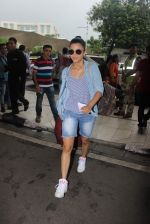 Shruti Haasan spotted at the airport on 21st July 2015