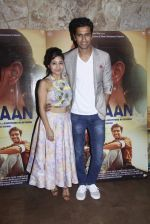 Shweta Tripathi, Vicky Kaushal at Masaan screening in Lightbox, Mumbai on 21st July 2015